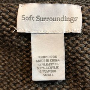 Soft Surroundings Sweaters - SOFT SURROUNDINGS COUNTRY WEEKEND SWEATER SZ S